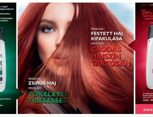 Oriflame HairX hajápolás