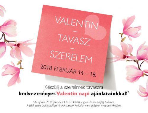 Valentin napi ajánlat 2018. február 14-18.
