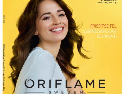 2018. 8-as Oriflame katalógus