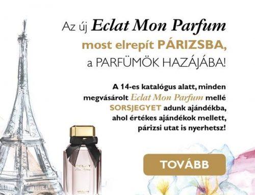 Eclat Mon Parfum nyereményjáték