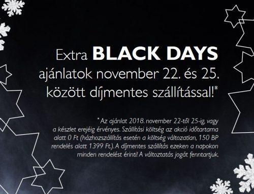 Extra Black Days! Karácsonyi szettek akár 65% kedvezménnyel!