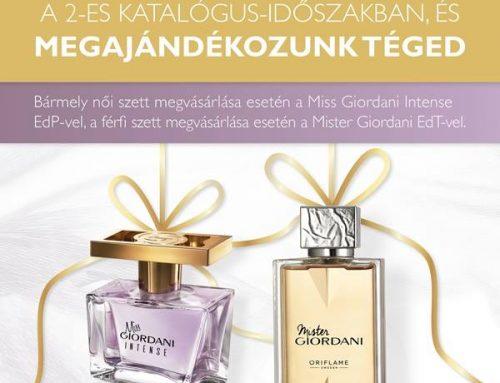 Ajándék Giordani illat NovAge szett vásárláshoz