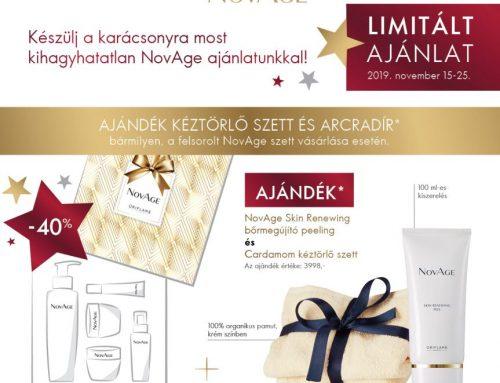 Készülj Karácsonyra az Oriflame limitált NovAge ajánlatával