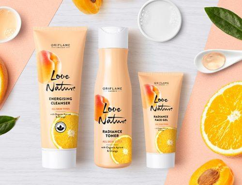 Ragyogó arcbőr, organikus sárgabarack- és narancslé kivonattal