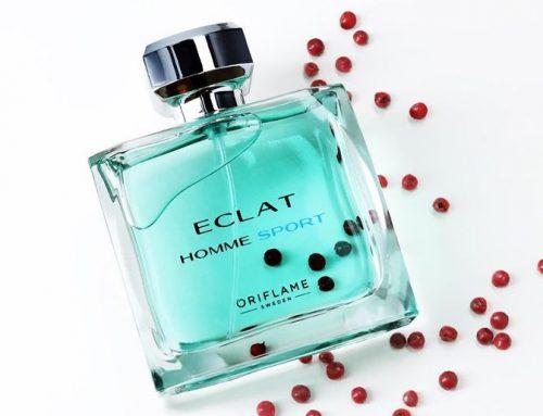 Eclat Homme Sport. A frissesség illata!